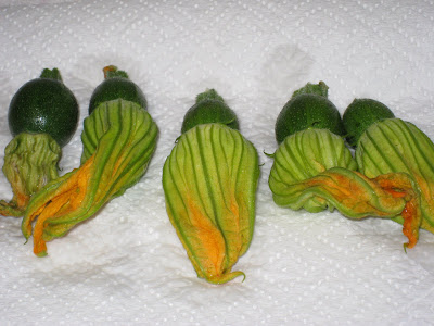 Cooking without a Net: Crispy Fried Zucchini Blossoms