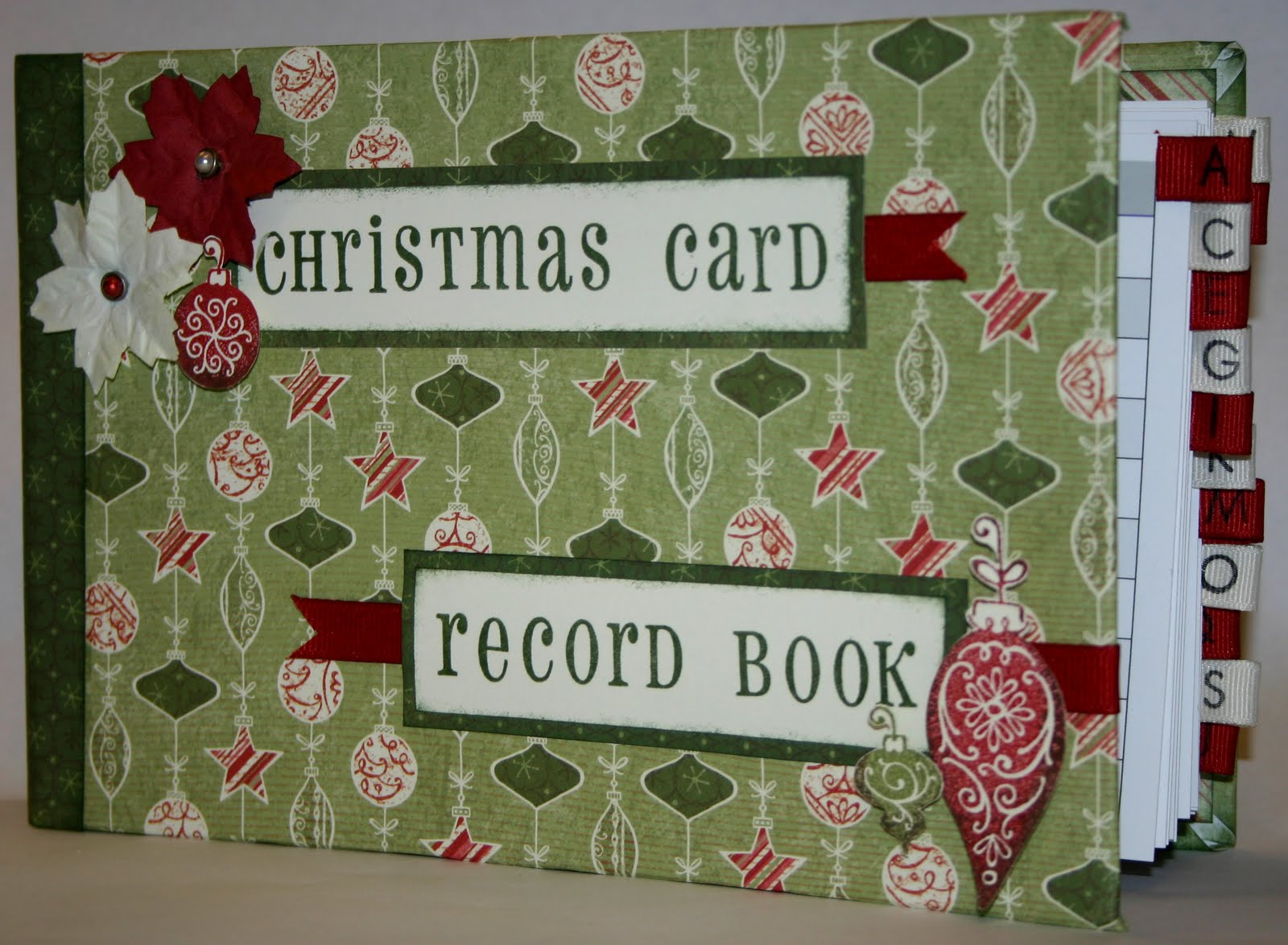 Christmas Card Book | Holliday Decorations