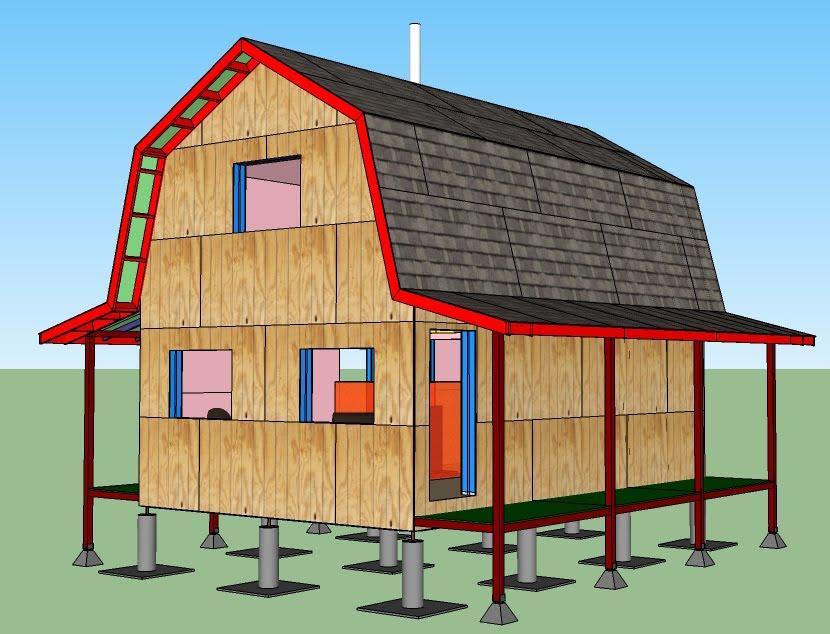 Build a 16x24 cabin joy studio design gallery best design for 16x24 house