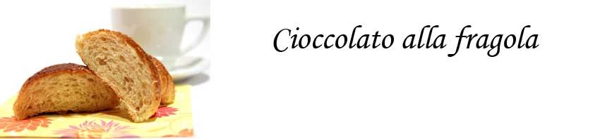 Cioccolato alla fragola