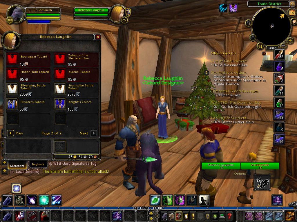 how to wear tabards in legion