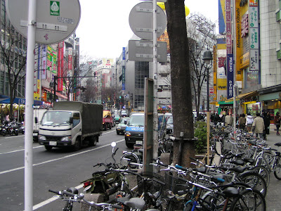 Bicycle sharing easing parking problems in Japan - BICYCLE parking problems!