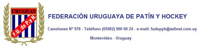 FEDERACION URUGUAYA DE PATIN Y HOCKEY