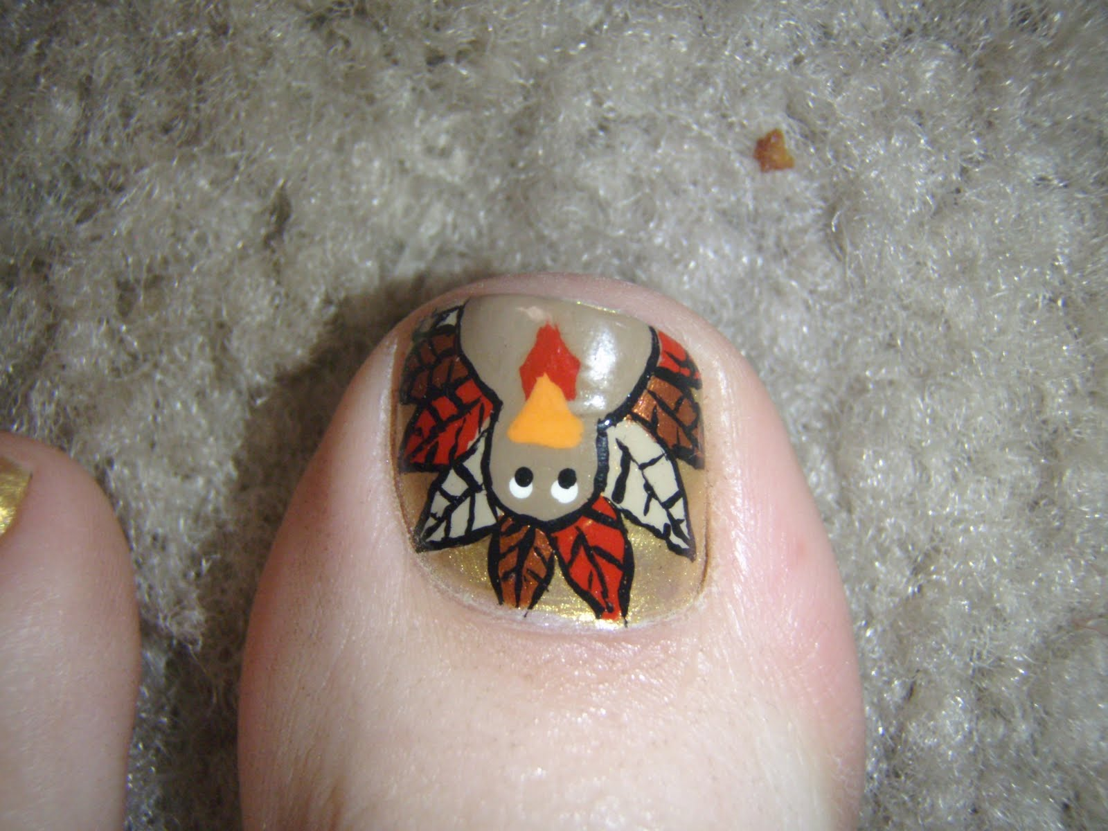 Toe nail designs for thanksgiving thanksgiving nail art designs gallery for gt thanksgiving toe nail designs view images prinsesfo Choice Image