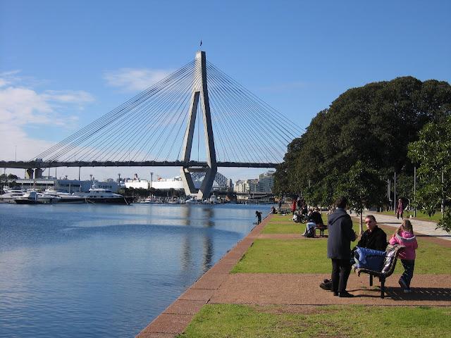 Three Bridges And Bicentennial Park Glebe Point