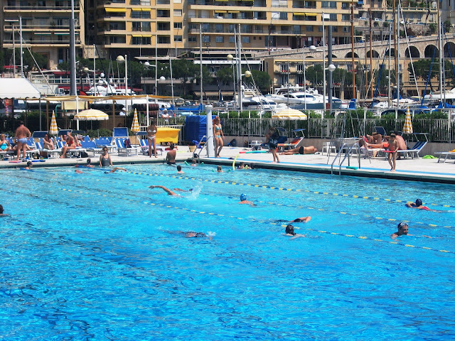 Swimming Public Pool Monaco