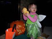 Sophie's pumpkineating pumpkin