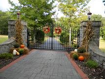 Fall Gate Decorations
