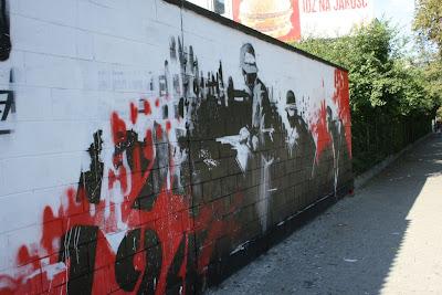 warszawa moim oczkiem mural powsta czy na polonii