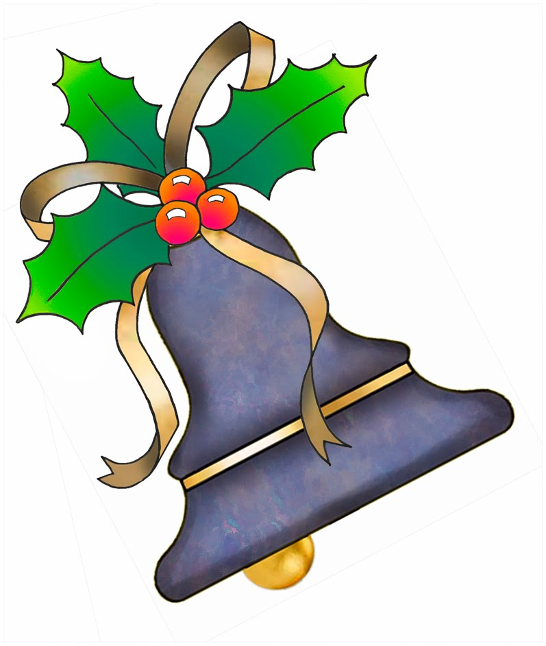 Artbyjean paper crafts christmas bells clip art from