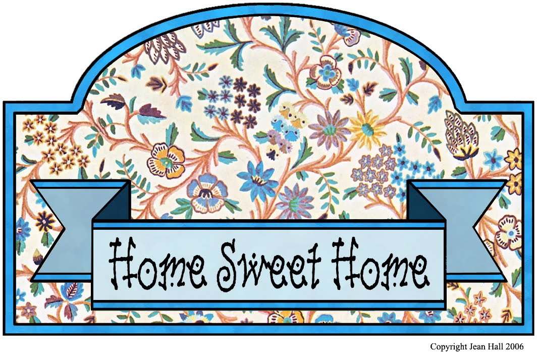Home Sweet Home Vintage artbyjean - vintage indian print: make your own home sweet home sign!