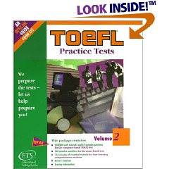 New Toefl complete practice test, Toefl sample questions, New Toefl book
