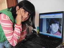 Aitana y su blog