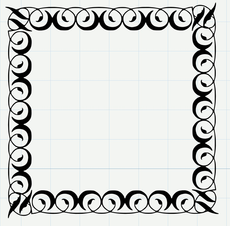 Michelle39;s Adventures with Digital Creations: An Ornate Frame