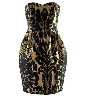 Black  Gold Dress on Find Me Fabulous  The Perfect Holiday Dress For Less