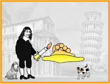Descartes toasting some ...