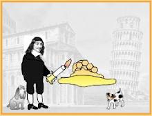 Descartes toasting some ...
