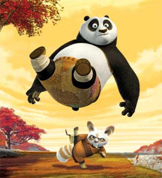 3D Kungfu Panda