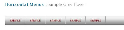 simple grey hover