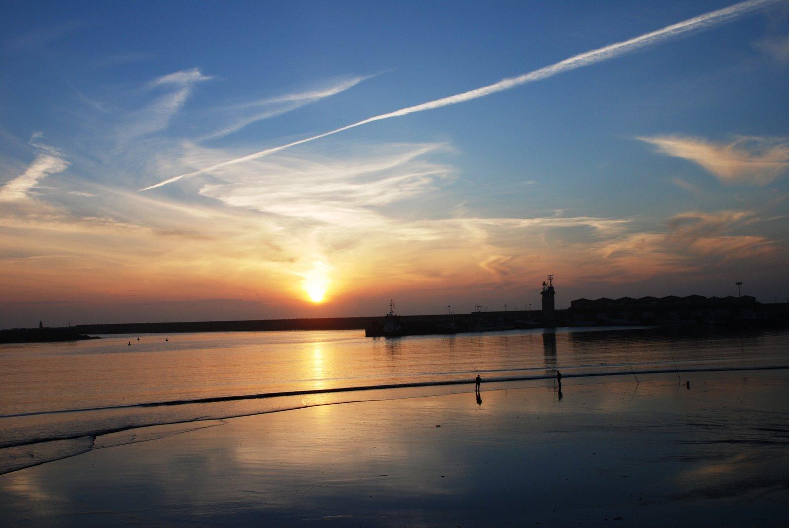 Porto de pesca na Póvoa de Varzim