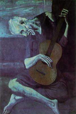 Velho guitarrista de Picasso