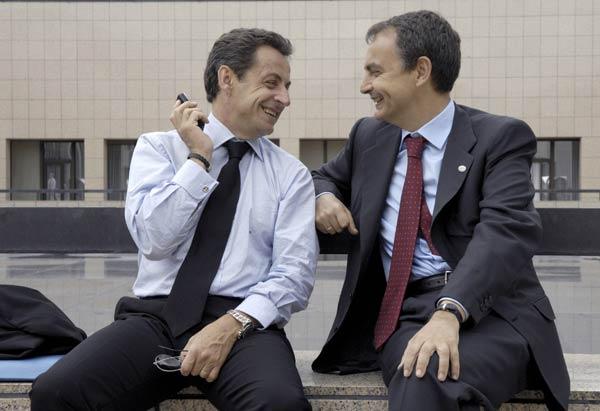 Zapatero e Sarkozy