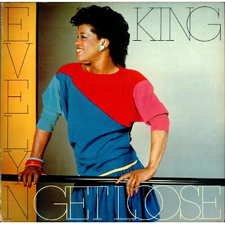 EVELYN CHAMPAGNE KING 1982 { get loose }