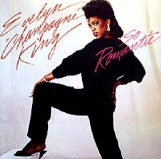 EVELYN CHAMPAGNE KING 1984 {so romantic }