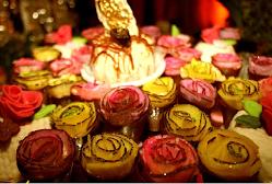 Flores de coco.