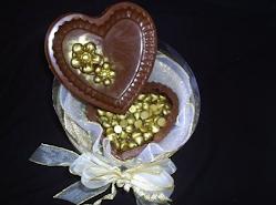 caixa de chocolate porta jóia.