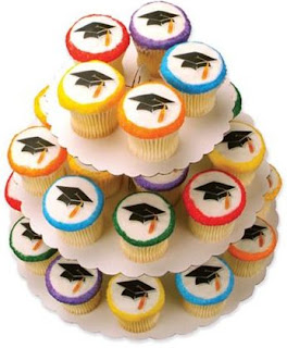 Beautiful Graduation Cupcake