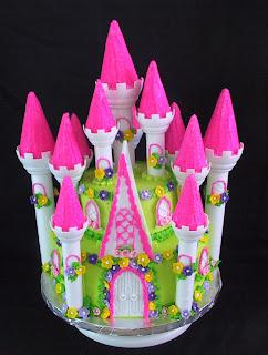 Popular Princess Castle Birthday Cakes Decorations