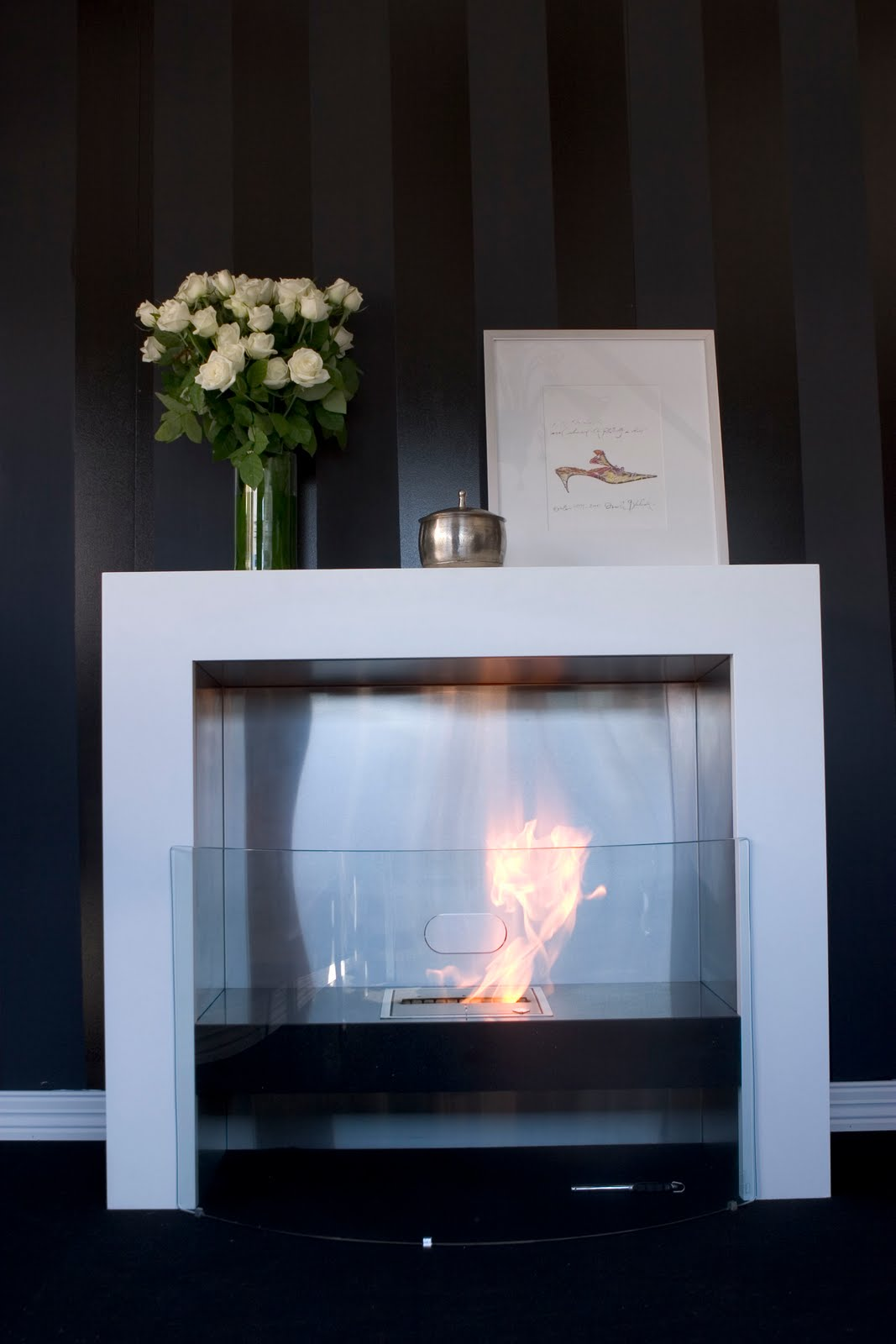 Element Modern Ventless Designer Fireplace