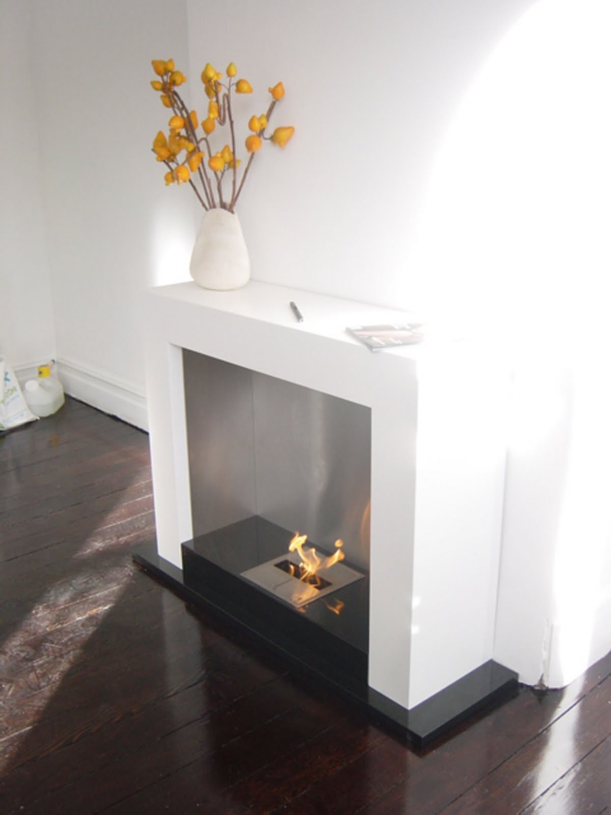modern interior design oxygen modern indoor fireplace without