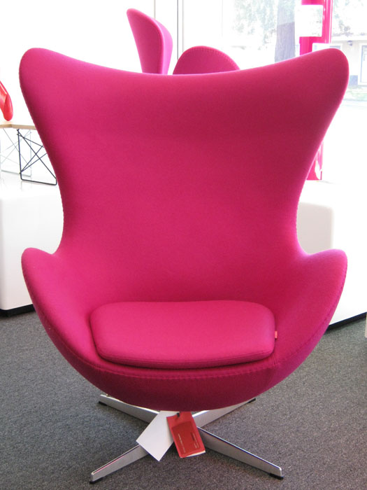 Click above Arne Jacobsen Egg Chair image to enlarge