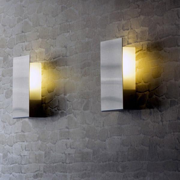 Design contemporary modern stainless steel fluorescent outdoor light