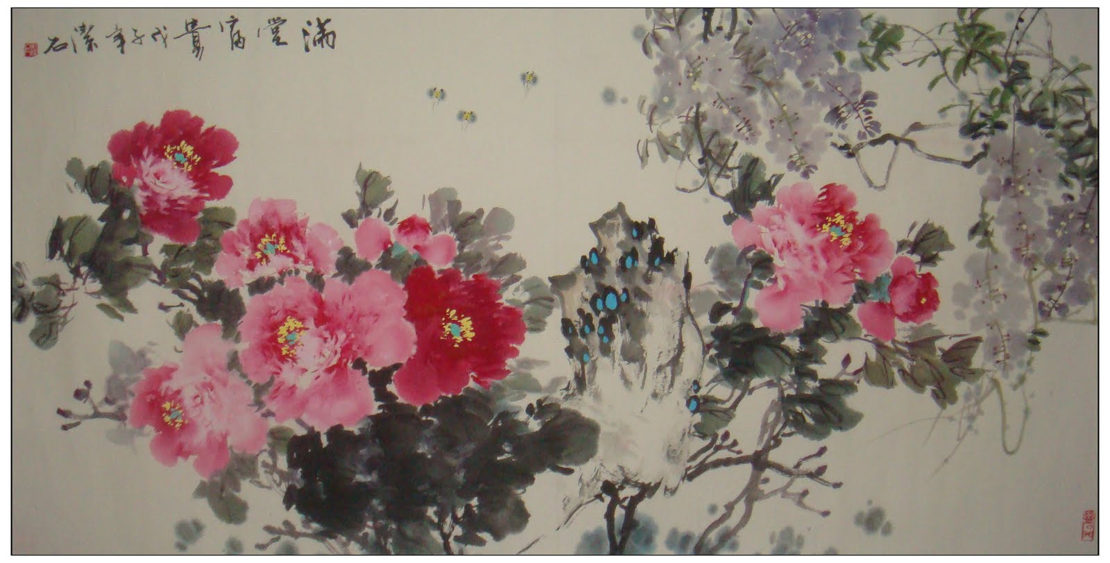 Gallery China Chinese Paintings Flowers & Birds