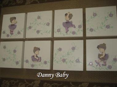 quadros para decoração de bailarina