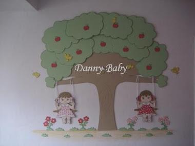 decoração de quarto de bebê de gêmeas