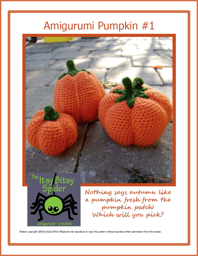Crochet Pumpkin Hat Crochet Pattern | Red Heart