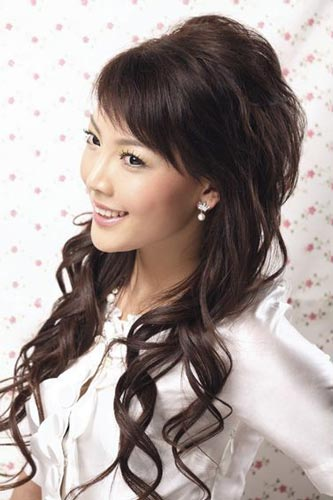 cute asian hair style -http://long-hairstyle.blogspot.com