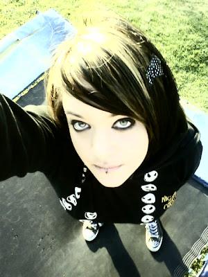 jessi cute emo hair