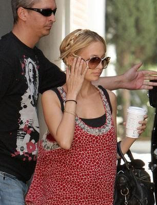 Nicole Richie cute hairstyle