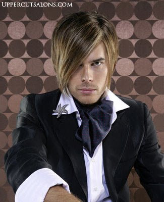 Cool Guy Hairstyles. So cool this guy! emo hair is