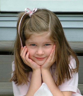 hairstyles for kids girls with bangs