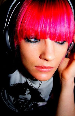 pink hairstyles for girl
