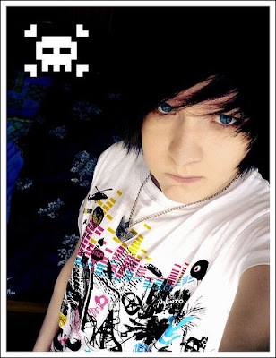 emo hairstyles for guys. long for the guys, The