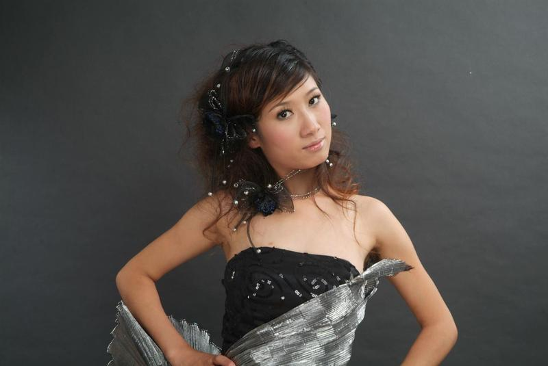 2009 Asian wedding hairstyle