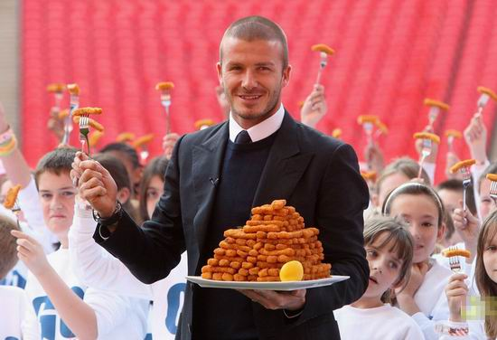 David Beckham Haircuts -men's hair style