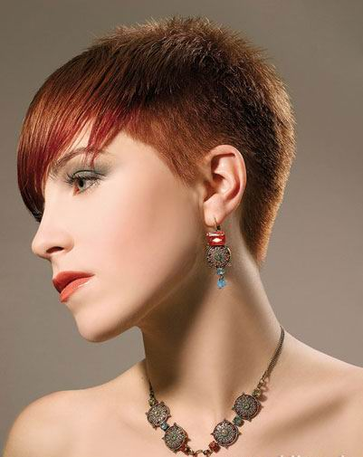 short cropped hairstyles. Female Short Hairstyles 4: Amy